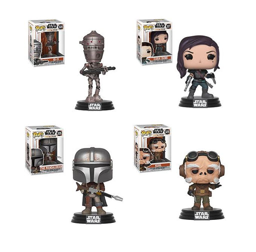 Funko POP! Star Wars: The Mandalorian - Set of 4