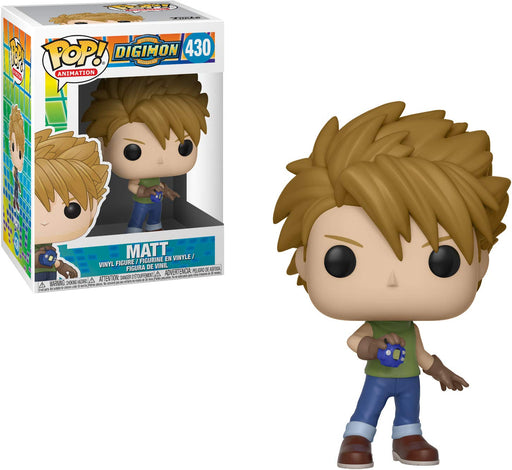Funko POP! Digimon - Matt Vinyl Figure #430