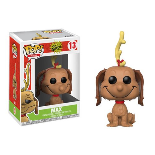 Funko Pop! Dr. Seuss The Grinch Max the Dog Vinyl Figure #13