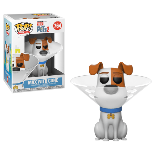 Funko POP! Secret Life of Pets 2 - Max with Cone Vinyl Figure #764
