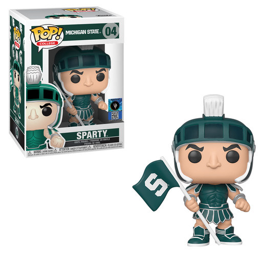 Funko POP! College: Michigan State - Sparty (Home Greek Armor) Vinyl Figure