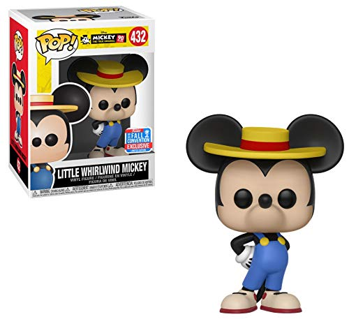Funko POP! Mickey 90th - Little Whirlwind Mickey Vinyl Figure #432 2018 Fall Convention Exclusive (NOT 100% MINT)