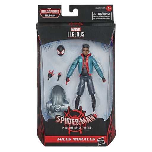 Spider-Man Marvel Legends - Miles Morales 6-Inch Action Figure (Stilt-Man Build-A-Figure)