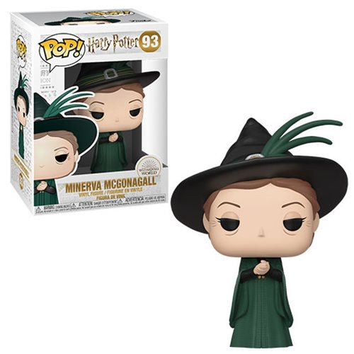Funko POP! Harry Potter S8 - Minerva McGonagall (Yule) Vinyl Figure #93