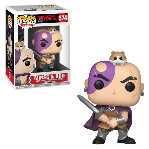 Funko POP! Dungeons & Dragons - Minsc and Boo Vinyl Figure #574
