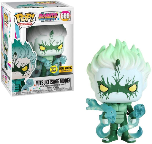 Funko POP! Boruto: Naruto Next Generations - Mitsuki (Sage Mode) GITD Vinyl Figure #699 Hot Topic Exclusive [READ DESCRIPTION]