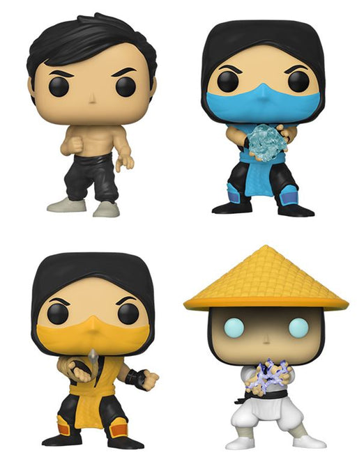 [PRE-ORDER] Funko POP! Mortal Kombat - Set of 4