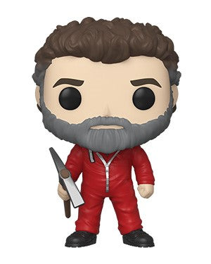 Funko POP! Money Heist (La Casa De Papel) - Moscow Vinyl Figure