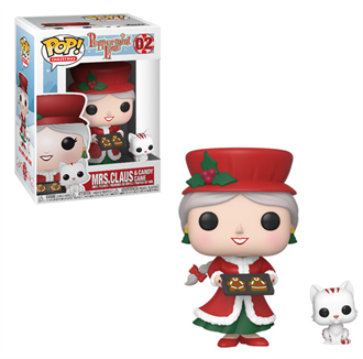 [PRE-ORDER] Funko POP! Peppermint Lane - Mrs. Claus and Candy Cane Vinyl Figure #02