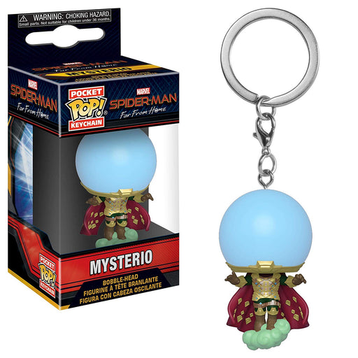Funko POP! Keychain: Spider-Man Far From Home - Mysterio Pocket Keychain