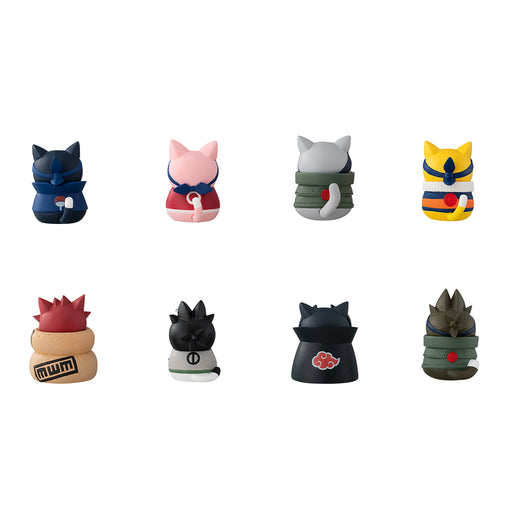 [PRE-ORDER] Megahouse: Naruto - Naruto-Nyaruto! Cats Of Konoha Village with Premium Can Mascot