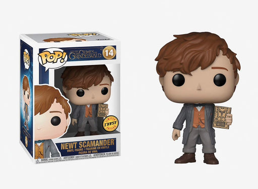 Funko POP! Fantastic Beasts: The Crimes of Grindelwald - Newt Scamander Chase Vinyl Figure #14