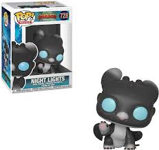 Funko POP! How To Train Your Dragon - Night Lights (Blue Eyes) Vinyl Figure #728