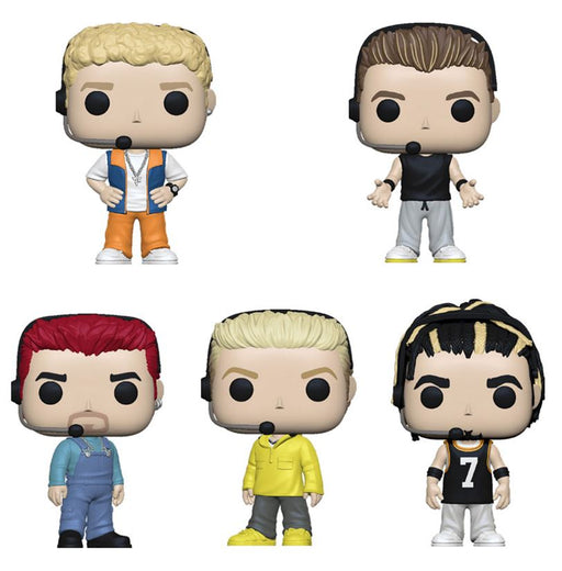 Funko POP! Rocks - *NSYNC Complete Set of 5
