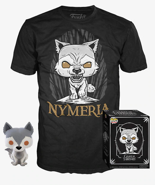 Funko POP! and Tee: Game of Thrones - Nymeria Collectors Box Hot Topic Exclusive