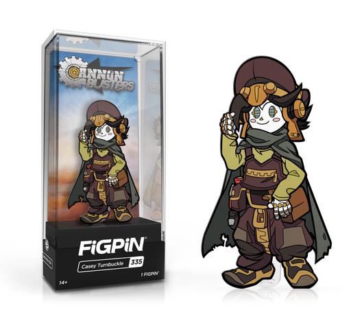 [PRE-ORDER] FiGPiN: Cannon Buster - Casey Turnbuckle #335
