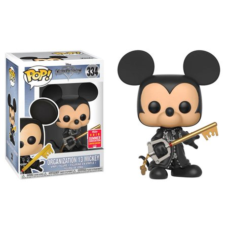 Funko POP! Kingdom Hearts - Organization 13 Mickey 2018 Summer Convention Exclusive (NOT 100% MINT)