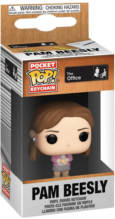 Funko POP! Keychain: The Office - Pam Beesly Pocket Keychain
