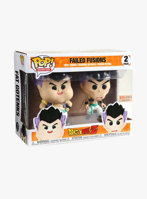 Funko POP! Dragon Ball Z - Failed Fusions 2-Pack Box Lunch Exclusive (NOT 100% MINT)