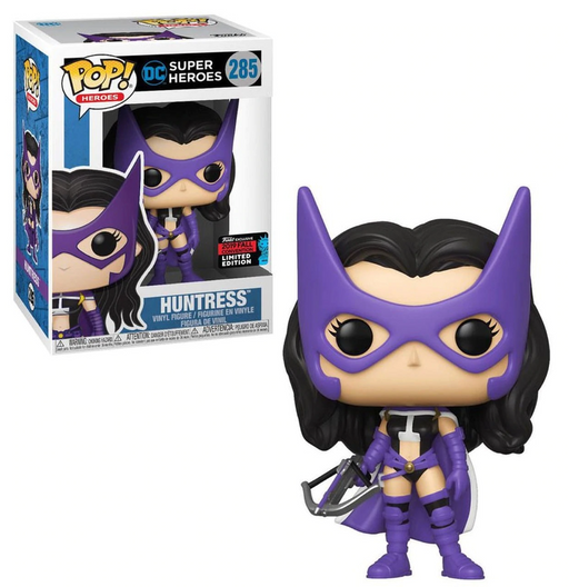 Funko POP! DC Super Heroes - Huntress Vinyl Figure #285 Fall Convention Exclusive [READ DESCRIPTION]