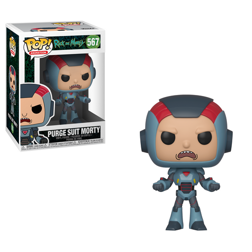 Funko POP! Rick and Morty: S6 - Purge Suit Morty Vinyl Figure #567