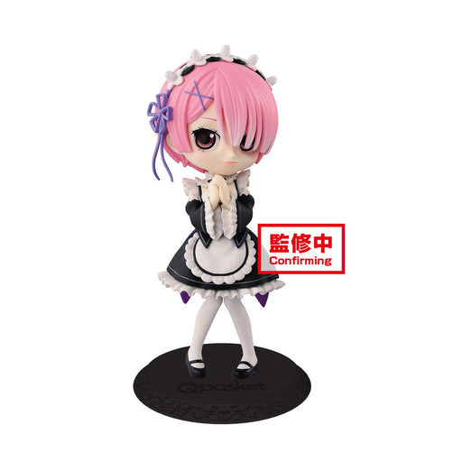 Banpresto Q Posket: Re:Zero - Starting Life in Another World -  Ram (Ver.A)