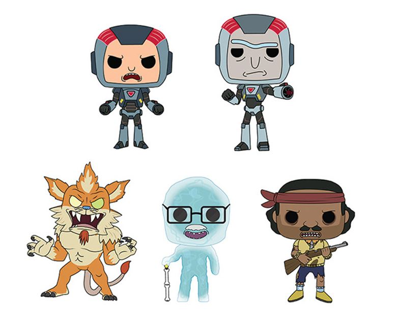 Funko POP! Rick and Morty - Season 6 Complete Set of 5