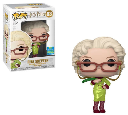 Funko POP! Harry Potter - Rita Skeeter Vinyl Figure #83 2019 Summer Convention Exclusive (NOT 100% MINT)