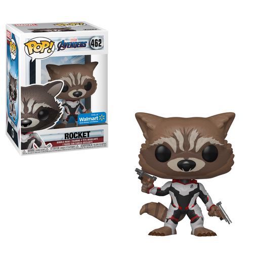 Funko POP! Avengers: Endgame - Rocket Vinyl Figure #462 Walmart Exclusive (NOT 100% MINT)