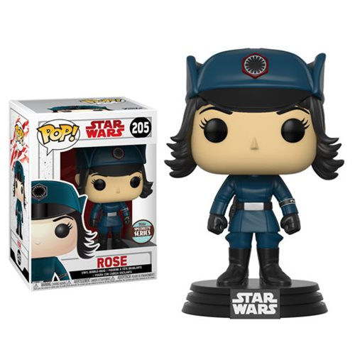 Funko POP! Star Wars: The Last Jedi - Rose in Disguise #205 Specialty Series