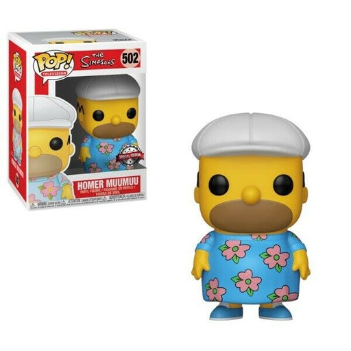 Funko POP! The Simpsons - Homer Muumuu Vinyl Figure #502 Special Edition Exclusive (NOT 100% MINT)