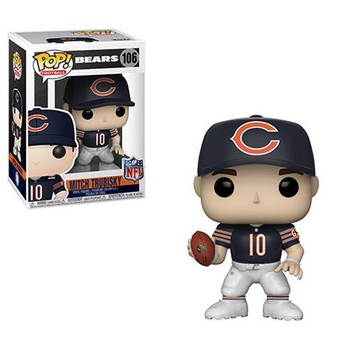 Funko POP! NFL: Bears - Mitch Trubisky Vinyl Figure #106