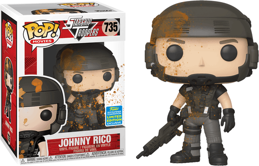Funko POP! Starship Troopers - Johnny Rico (Muddy) Vinyl Figure #635 2019 Summer Convention Exclusive [READ DESCRIPTION]