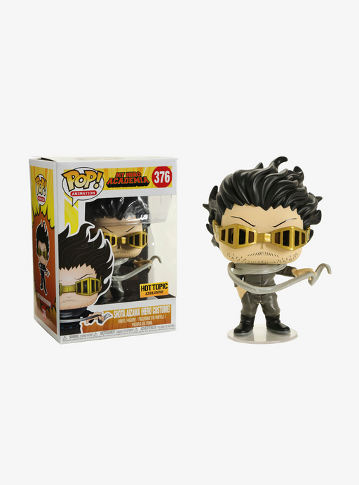 Funko POP! My Hero Academia - Shota Aizawa (Hero Costume) Vinyl Figure #376 Hot Topic Exclusive (NOT 100% MINT)
