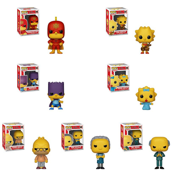Funko POP! The Simpsons - Season 2 Complete Set of 7
