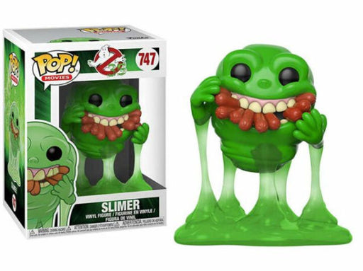 Funko POP! Ghostbusters - Slimer with Hot Dogs Vinyl Figure #747