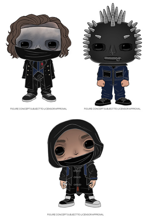[PRE-ORDER] Funko POP! Rocks: Slipknot - Set of 3