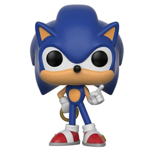 Funko POP! Sonic The Hedgehog - Sonic with Ring Vinyl Figure #283