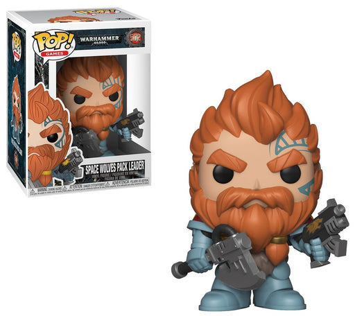 Funko POP! Warhammer 40k - Space Wolves Pack Leader Vinyl Figure #502