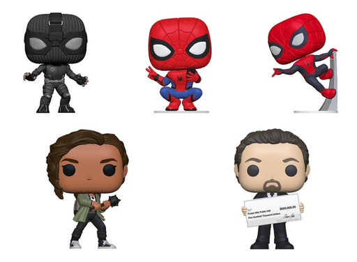 [PRE-ORDER] Funko POP! Spider-Man: Far From Home - Complete Set of 5