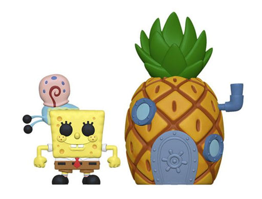 Funko POP! Town: Spongebob - Spongebob and Pineapple Vinyl Figure