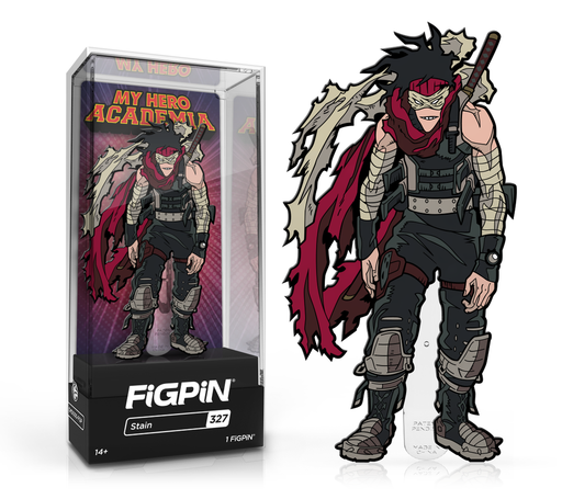 [PRE-ORDER] FiGPiN: My Hero Academia - Stain #327