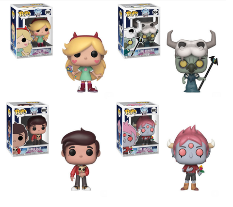 Funko POP! Star vs. the Forces of Evil - Complete Set of 4