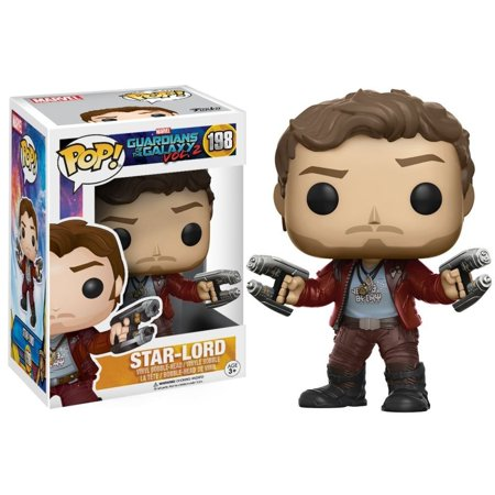 Funko POP! Guardians of the Galaxy - Star Lord Vinyl Figure #198