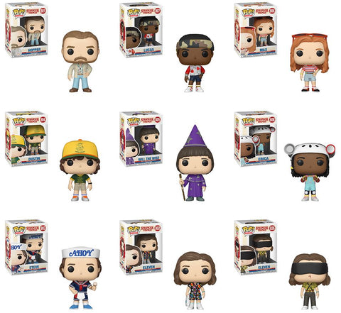 [PRE-ORDER] Funko POP! Stranger Things - Season 3 Set of 9