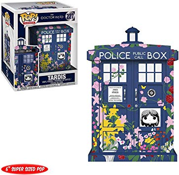 Funko POP! Doctor Who - Tardis 6 inch Vinyl Figure #227