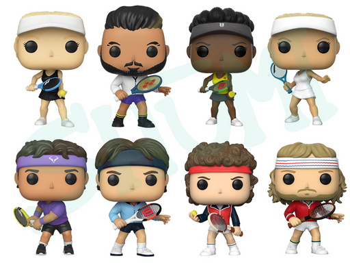 [PRE-ORDER] Funko POP! Tennis Legends - Set of 8