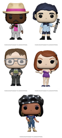 [PRE-ORDER] Funko POP! The Office S2- Set of 5