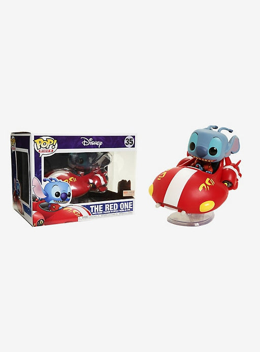 Funko Pop! Rides Disney Lilo & Stitch The Red One Vinyl Figure #35 BoxLunch Exclusive