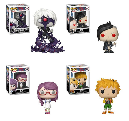 Funko POP! Tokyo Ghoul - Complete Set of 4